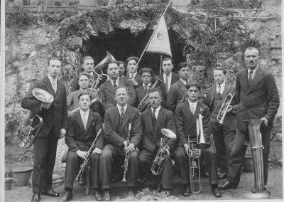 1930 Bandella Partito Conservatore Democratico di Riva S. Vitale